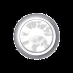 Polished White – Mini Bezel Set – Crystal
